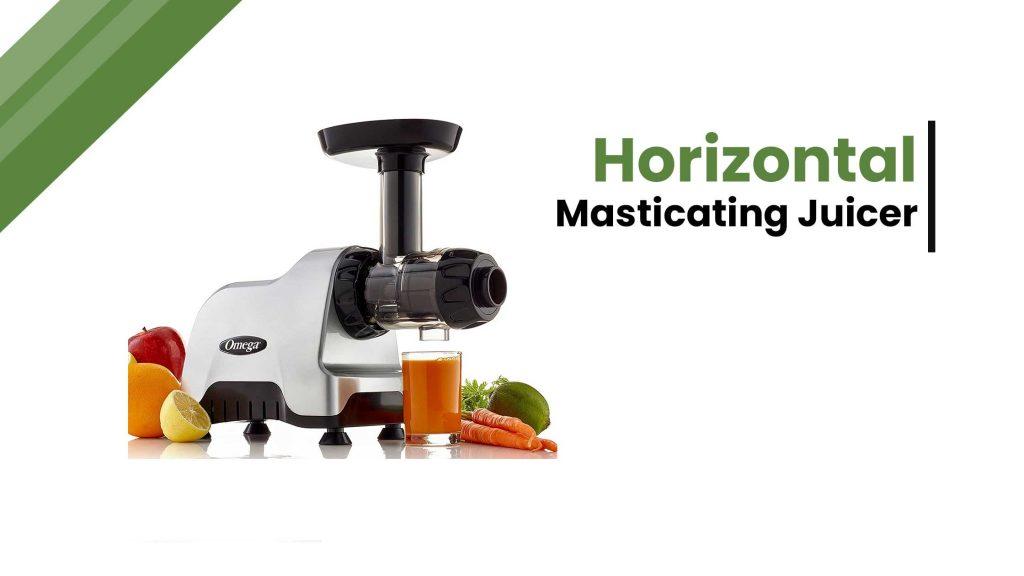 Horizontal-masticating-juicer