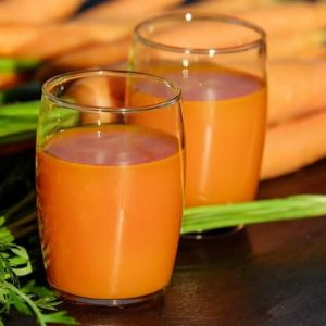 benefits of drinking carrot juice on empty stomach